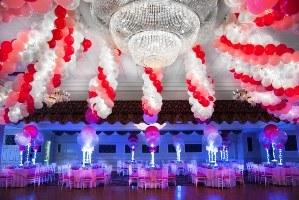 allestimenti festa 18 anni milano - palloncini