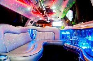 servizio limousine festa 18 anni milano - interni limousine